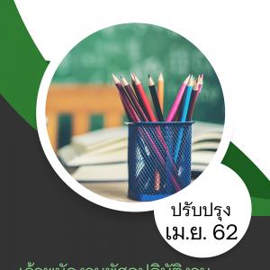 แนวข้อสอบ เจ้าพนักงานพัสดุปฏิบัติงาน กรมการพัฒนาชุมชน 2562